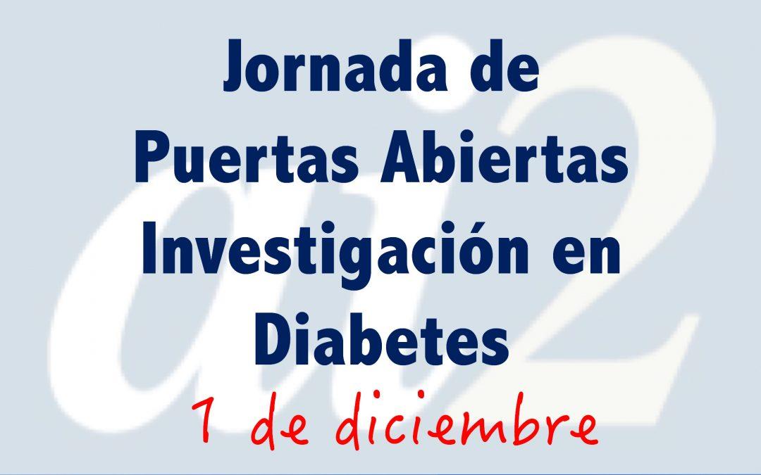 La Jornada de Puertas Abiertas de la Investigación en Diabetes en el Instituto ai2 se celebrará el 1 de diciembre