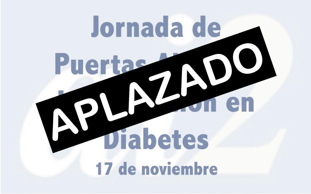 Aplazada la Jornada de Puertas Abiertas de la Investigación en Diabetes en el Instituto ai2